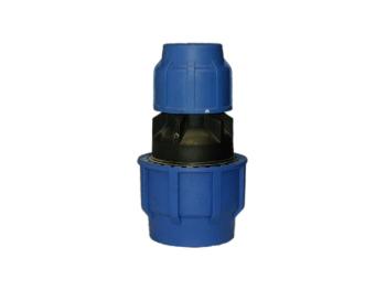 KPE szűkítő toldó  D40x50 mm