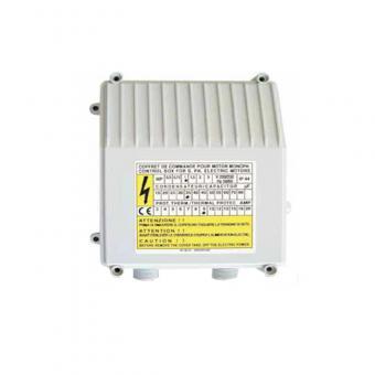 Vezérlő doboz PM C-box  40 kondenzátor: 40 µF
